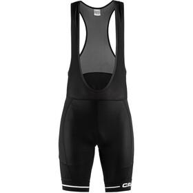 Craft Rise Bib Shorts Heren, black/white